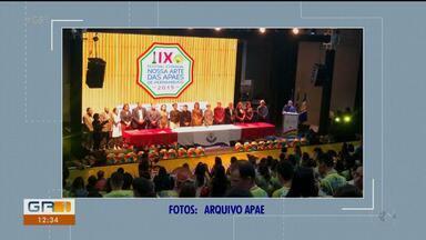 Federação das Apaes de Pernambuco sedia o '9º Festival Estadual Nossa Arte' - O evento foi realizado no teatro Beberibe, localizado em Olinda, região metropolitana do Recife.