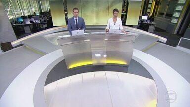 Jornal Hoje - Edição de segunda-feira, 10/06/2019 - Os destaques do dia no Brasil e no mundo, com apresentação de Sandra Annenberg e Dony De Nuccio