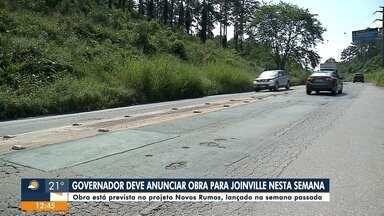 Jefferson Saavedra: governo deve anunciar obra para Joinville nesta semana - Jefferson Saavedra: governo deve anunciar obra para Joinville nesta semana
