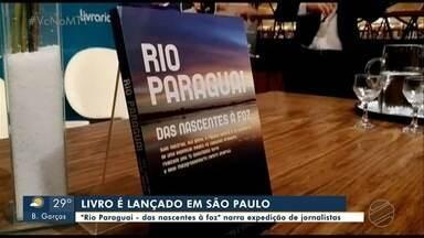 """Lançamento do livro """"Rio Paraguai - das nascentes à foz"""", em São Paulo - Lançamento do livro """"Rio Paraguai - das nascentes à foz"""", em São Paulo."""