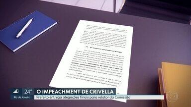 Prefeito Crivella entrega relatório com alegações finais da sua defesa no Impeachment - Relator da Comissão deve levar pedido de arquivamento ou prosseguimento da denúncia ao plenário da Câmara na quarta-feira 27 de junho.