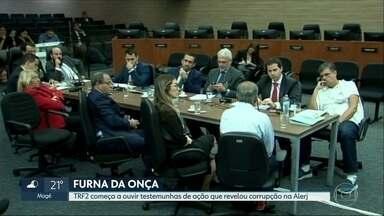 TRF2 começa a ouvir testemunhas da Operação Furna da Onça - Operação prende 5 deputados estaduais e revelou esquema de corrupção na Alerj.