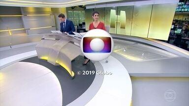 Jornal Hoje - Edição de terça-feira, 11/06/2019 - Os destaques do dia no Brasil e no mundo, com apresentação de Sandra Annenberg e Dony De Nuccio