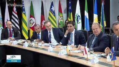 Mauro Carlesse vai a Brasília para reunião sobre a reforma da previdência - undefined