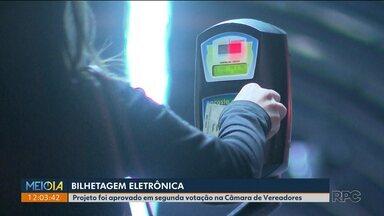Câmara de Vereadores aprova projeto de bilhetagem eletrônica em segunda votação - O projeto agora vai para a sanção do prefeito Rafael Greca.