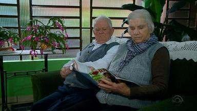 Seu Júlio e Dona Maria completam 73 anos de casados - A dupla de Tuparendi já têm 9 filhos, 18 netos e 16 bisnetos.