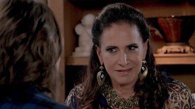 Vanessa chantageia Mercedes - Vanessa propõe uma aliança com Mercedes
