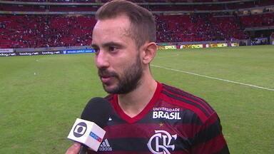 Éverton Ribeiro é escolhido como o Craque do Jogo e comemora boa fase no Flamengo - Éverton Ribeiro é escolhido como o Craque do Jogo e comemora boa fase no Flamengo