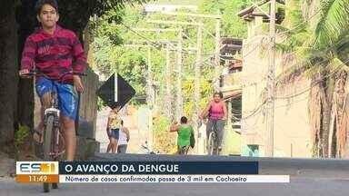 Cachoeiro de Itapemirim, no Sul do ES, regista mais de 3 mil casos de dengue - Distrito de Soturno é um dos locais com maior índice de casos.