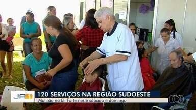 Mutirão da prefeitura oferece 120 serviços gratuitos em Goiânia - Evento acontece neste sábado (15) e domingo (16) no residencial Eli Forte, na região Sudoeste.