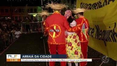 Tradicional festa junina de Angra dos Reis continua nos bairros - Festa não para até agosto quando acontece uma competição de quadrilhas.