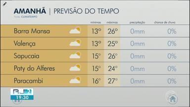 Última terça-feira do outono será de tempo firme no Sul do Rio - O frio continua durante a manhã e à noite.