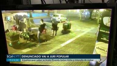 Jovem vai a juri popular por tentar matar um outro rapaz com um chute - O crime aconteceu no dia 23 de junho do ano passado em Medianeira.