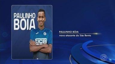 São Paulo empresta atacante Paulinho Bóia ao São Bento até o fim de 2019 - Após retornar de empréstimo do futebol português, jovem de 20 anos é reemprestado