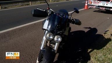 Motociclista vítima de acidente de trânsito morre no Hospital Regional - Homem sofreu uma queda na Rodovia Raposo Tavares (SP-270), em Presidente Prudente.