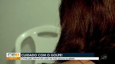 Mulher diz que foi enganada por homem que conheceu em site de relacionamento - Confira mais notícias em g1.globo.com/ce