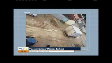 VC no MG: moradores reclamam de ruas sem asfaltamento - Moradoras são de Águas Formosas e Governador Valadares.