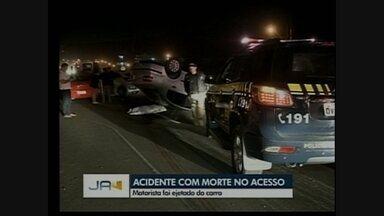 Homem morre em acidente na BR-480 em Chapecó - Homem morre em acidente na BR-480 em Chapecó