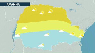 Sem previsão de chuva para esta quarta-feira - Quantidade de nuvens aumenta e por isso temperaturas não sobem muito.