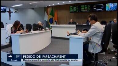 Câmara aceita denúncia político-administrativa contra o prefeito de Divinópolis - Após decisão do STF, denúncia foi aceita por dez votos a seis durante a reunião ordinária desta terça-feira (10). Os vereadores já foram nomeados para comissão; o G1 entrou em contato com a Prefeitura.