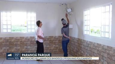 Moradores do Paranoá Parque reclamam da insegurança e pedem mais policiamento - Os moradores estão com medo dos roubos e furtos constantes na região. A PM diz que, este ano, houve uma queda no número de crimes, em relação ao mesmo período de 2018.