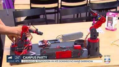 Campus Party começa hoje no Mané Garrincha - O evento de tecnologia vai até domingo.