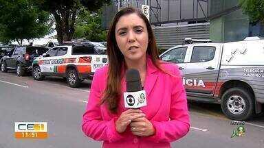 Quadrilha é presa em Juazeiro do Norte por assalto a carros no Centro - Saiba mais em g1.com.br/ce