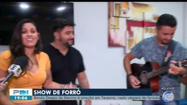 Banda Desejo de Menina faz show em Teresina e canta novos e antigos sucessos - Banda Desejo de Menina faz show em Teresina e canta novos e antigos sucessos