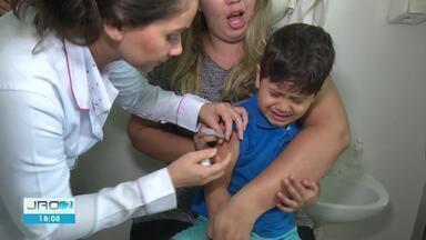 Crianças precisam tomar segunda dose da vacina contra gripe - Em Cacoal, é baixa a procura pela imunização.