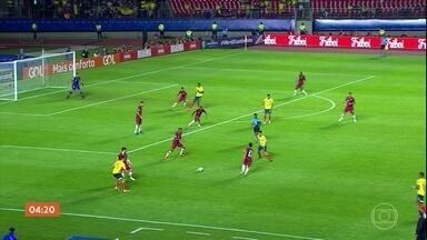 Colômbia é a primeira seleção classificada às quartas de final da Copa América - A Colômbia venceu o Qatar por 1 a 0.