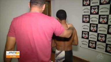 Foi preso ontem em Itapuã do Oeste o suspeito de atirar em um comerciante - Foi preso ontem em Itapuã do Oeste o suspeito de atirar em um comerciante