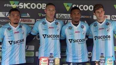 Londrina apresenta quatro reforços para a Série B do Brasileiro - Londrina apresenta quatro reforços para a Série B do Brasileiro