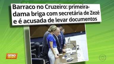 Bastidores do Cruzeiro seguem agitados: teve até Boletim de Ocorrência na Polícia - Bastidores do Cruzeiro seguem agitados: teve até Boletim de Ocorrência na Polícia