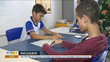 Escolas municipais de Linhares têm salas de recursos para atividades extracurriculares - Elas ajudam no desenvolvimento das crianças e dos conteúdos.