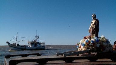 Começa a programação em homenagem a São Pedro - Santo padroeiro de Rio Grande, dos pescadores e do Rio Grande do Sul é recebido por fiéis no sul do Estado.