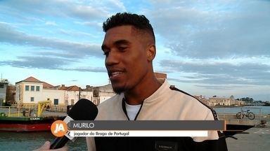 Jogador de futebol de São José do Norte se destaca na Europa - Murilo é exemplo de superação e mostra talento no Sporting Clube de Braga, de Portugal.