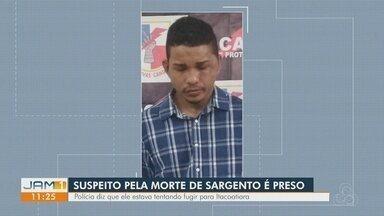 Sargento da reserva é assassinado com dez tiros ao reagir a assalto em Manaus, diz polícia - Rapaz de 19 anos foi preso pela Rocam na madrugada desta quinta-feira (20). Outros suspeitos são procurados.