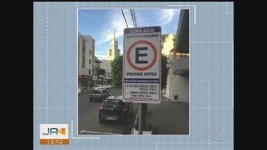 Estacionamento rotativo de Orleans passa a operar normalmente nesta sexta (21) - Estacionamento rotativo de Orleans passa a operar normalmente nesta sexta (21)