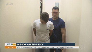 Adolescente envolvido na morte de policial rodoviário é preso em Macapá - Crime aconteceu em 8 de junho em Santana e vítima ainda teve três armas levadas.