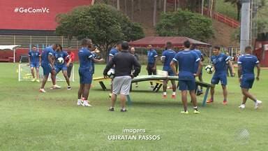 Seleção do Equador treina no Barradão e quer surpreender o Chile - As duas equipes se enfrentam amanhã (21).