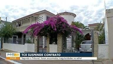 TCE suspende contrato entre empresa e prefeitura - Para o tribunal, o contrato não tem informações precisas sobre o serviço contratado.