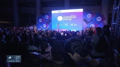 Campus Party 2019: campuseiros buscam soluções para problemas do mundo - Até domingo, 70 mil pessoas devem passar pelo Mané Garrincha.
