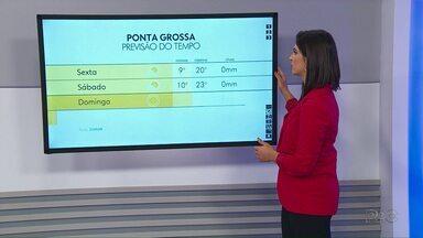 Inverno começa com temperaturas agradáveis na região - Confira como fica a previsão do tempo para esta sexta-feira.