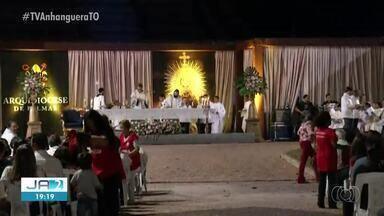 Fiéis se preparam para a procissão de Corpus Christi em Palmas - Fiéis se preparam para a procissão de Corpus Christi em Palmas