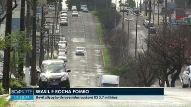 Trecho da Avenida Brasil até o trevo Cataratas e Avenida Rocha Pombo vão ser revitalizados - Revitalização de avenidas custará R$ 5,7 milhões.