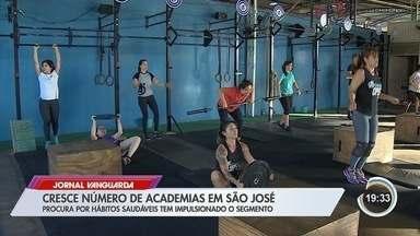 Cresce número de academia em São José - Procura por hábitos saudáveis tem impulsionado o segmento.