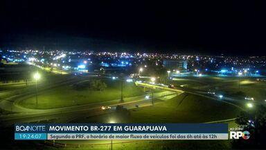Quinta-feira foi de movimento nas rodovias federais e estaduais - As policias rodoviárias estão trabalhando na Operação Corpus Christi.