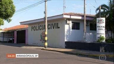 Polícia de Mirandópolis (SP) investiga agressão a idoso em rodoviária - Polícia de Mirandópolis (SP) investiga agressão a idoso em rodoviária.