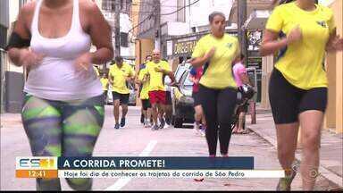 Tradicional corrida de São Pedro deve reunir quase 2 mil pessoas em Cachoeiro - Corrida acontece neste sábado (20).