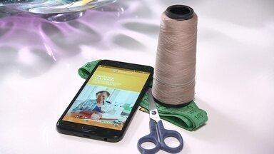 Tecnologia dá fôlego para a profissão de costureira - Um aplicativo foi criado para levar o serviço até a casa do cliente.